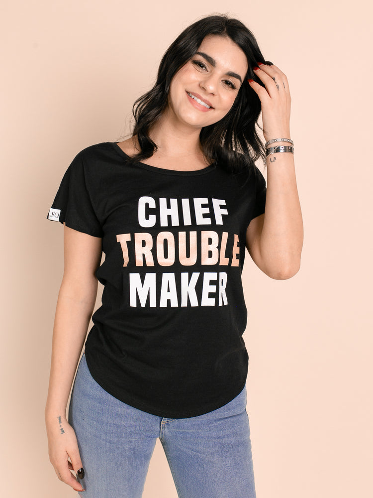 Chief Troublemaker Tee