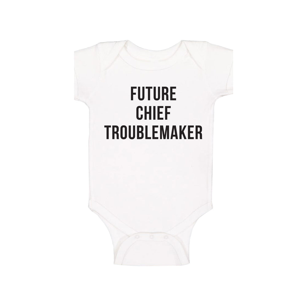 Future Chief Troublemaker Onesie