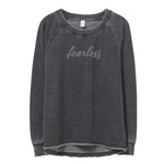 Fearless Sweatshirt in Dark Grey