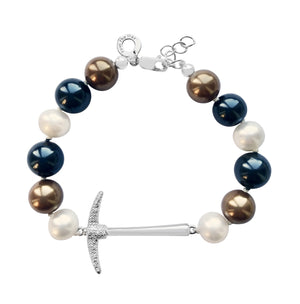 Mixed Pearl Pick Leadership Bracelet