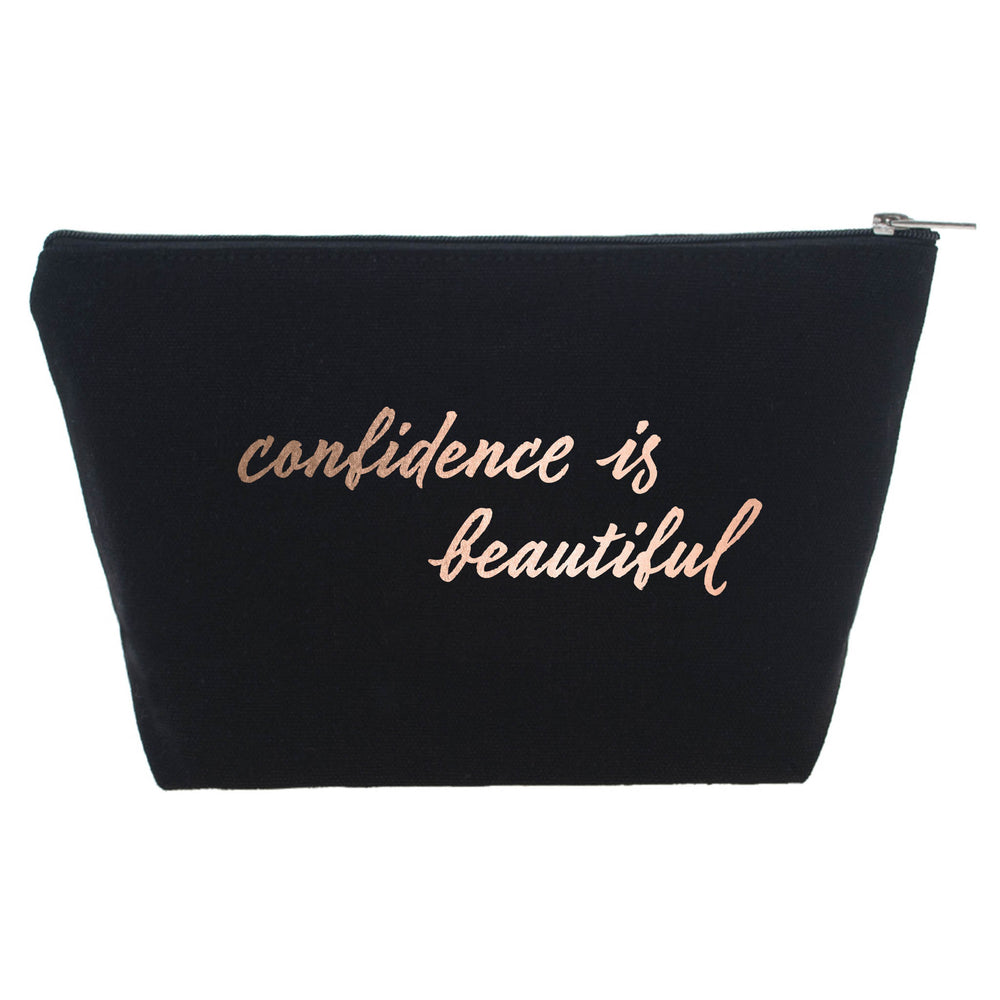 Confidence is Beautiful Makeup Bag