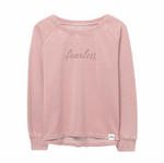 Fearless Sweatshirt in Pink