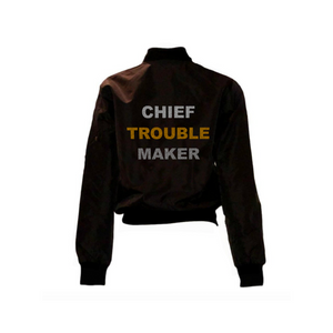 Chief Trouble Maker Bomber Jacket