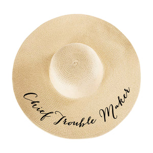 Chief Troublemaker Hat