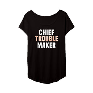 Chief Troublemaker Tee with Snap Inc.