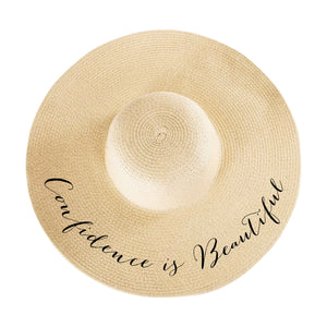 Confidence is Beautiful Hat