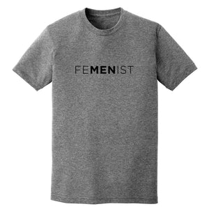 FeMENist Grey Tee