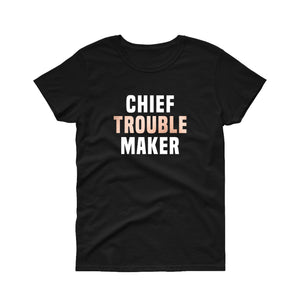 Toddler Chief Troublemaker Tee