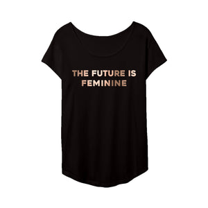 The Future Is Feminine Tee