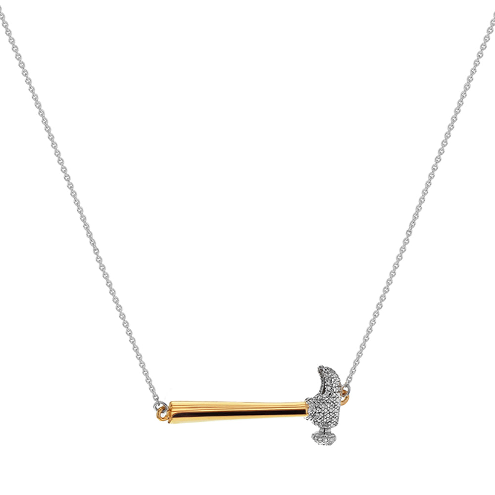 Hammer Home Your Message Necklace