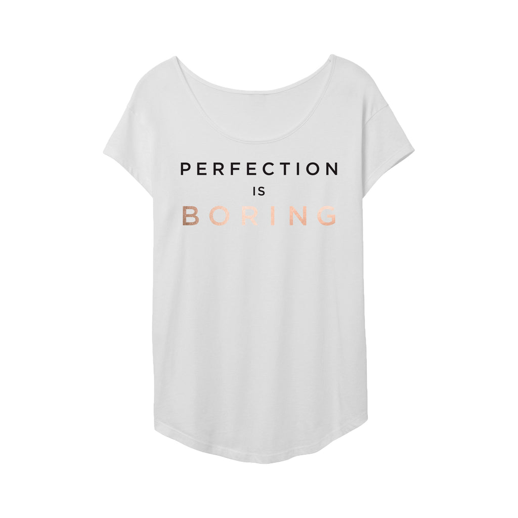 Perfection Is Boring