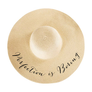Perfection is Boring Hat