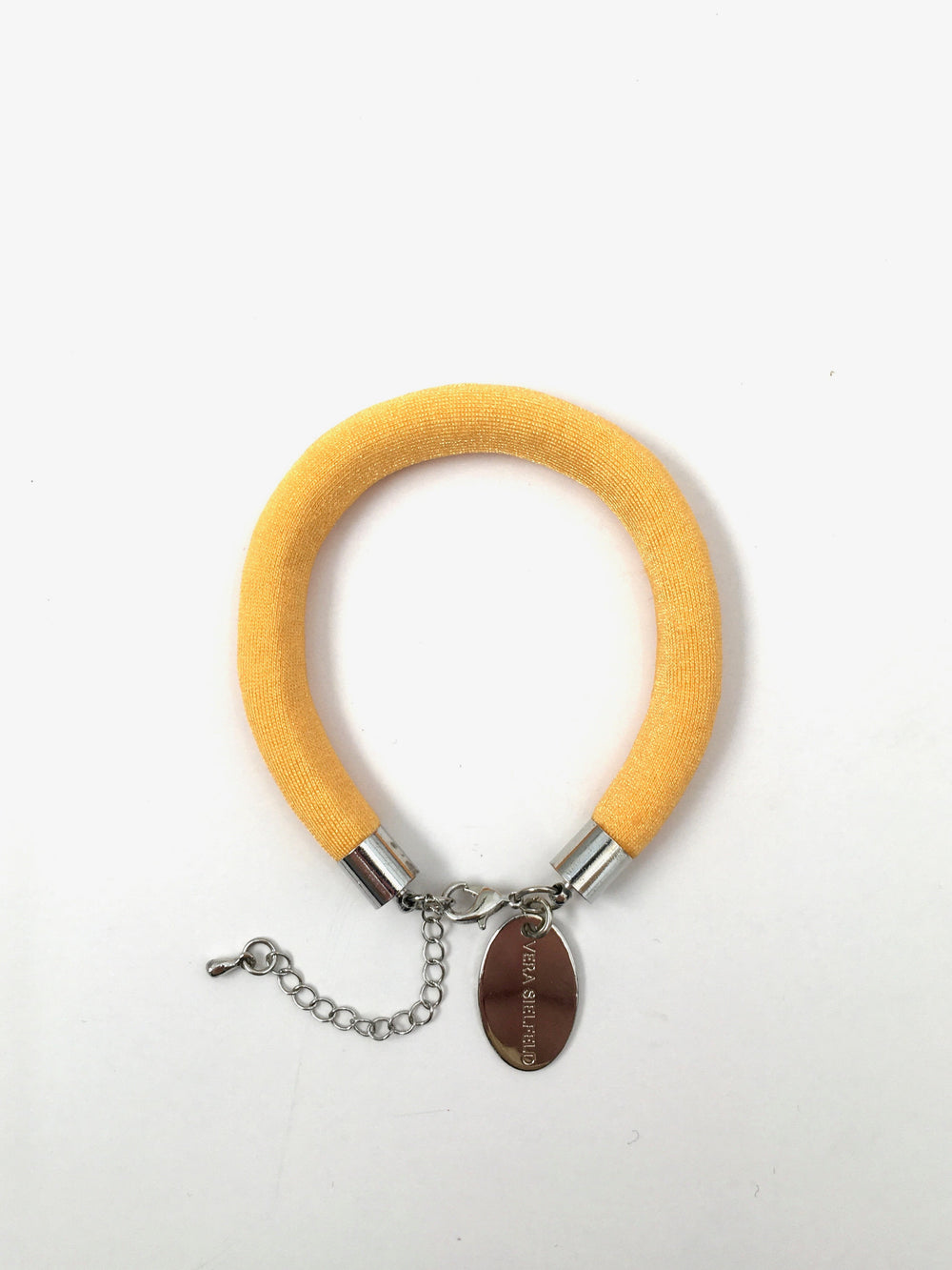 PULSERA SIMPLE amarillo oscuro