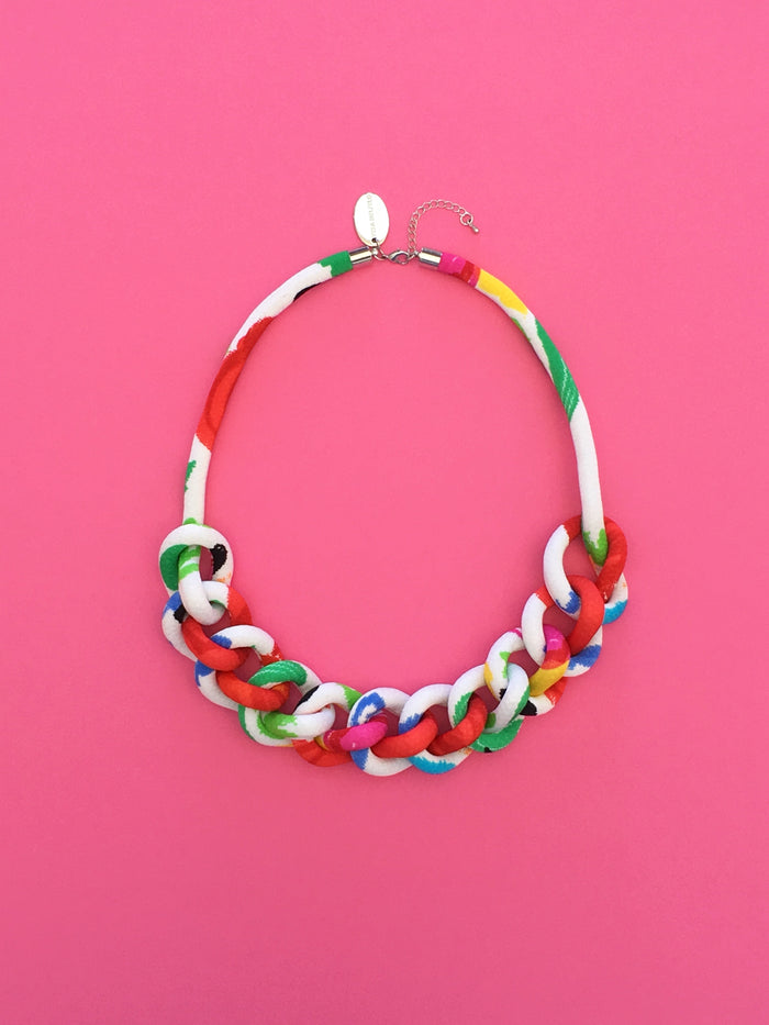 COLLAR CADENA multicolor #3