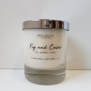 Simpleandco - Fig and Cassis Soy Candle