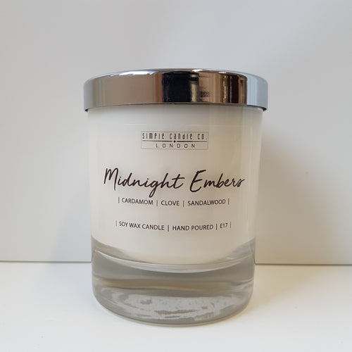 Simpleandco - Midnight Embers Soy Candle