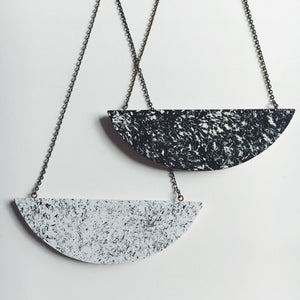 Monochrome Speckled Necklace | Lucie Ellen