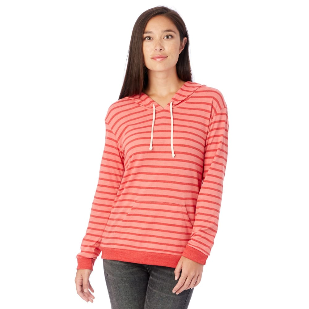 AA Classic Eco-Jersey Pullover Hoodie - Coral / X-Small - Clothing