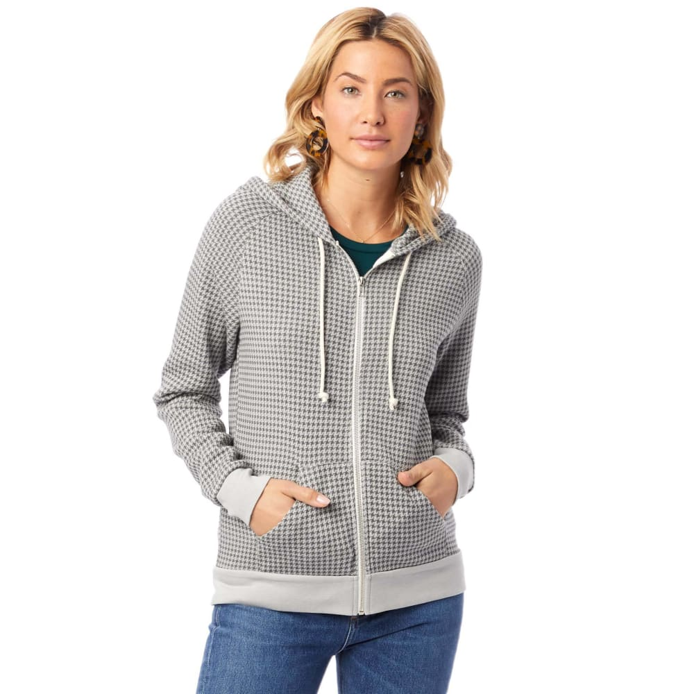 AA Eco-Fleece Printed Adrian - Grey / X-Small - Clothing