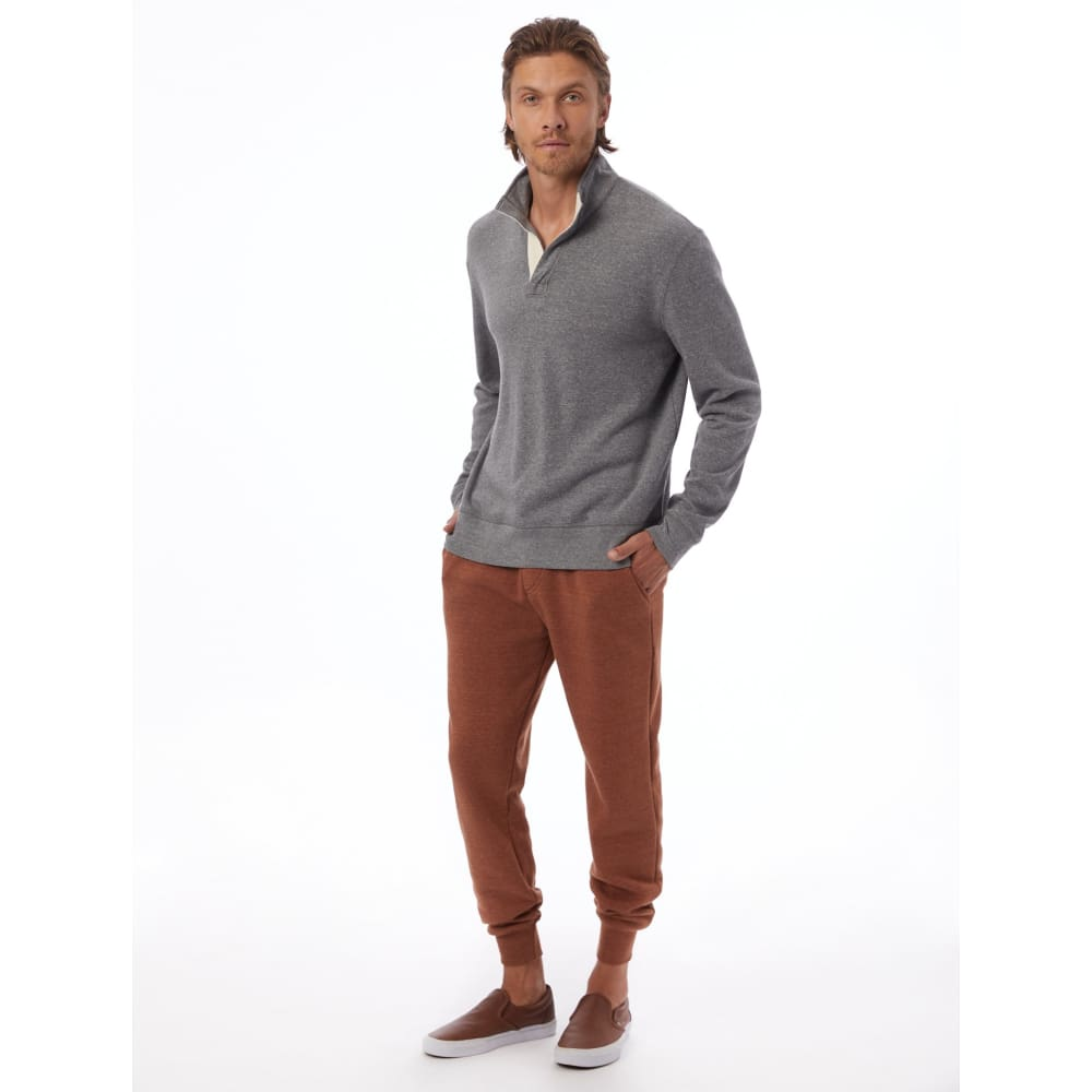 AA Notched Pulllover Eco-Fleece - Clothing