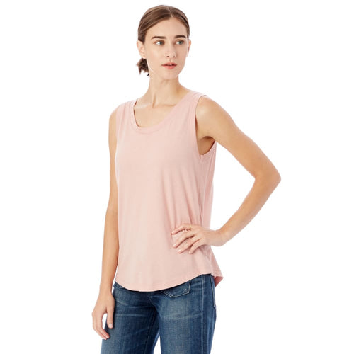 AA Shirt Muscle Modal - Rose Quartz / X-Small - Clothing