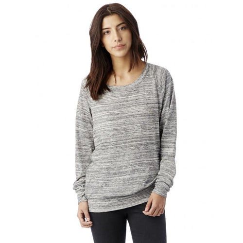 AA Slouchy Eco-Jersey Pullover - Urban Grey / X-Small - Clothing