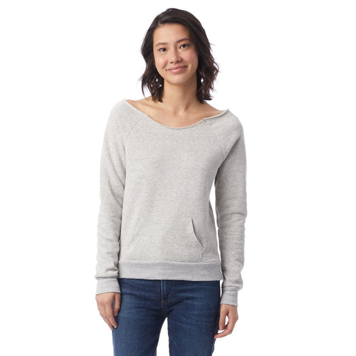 AA Sweatshirt Front Pocket Eco-Fleece - Oatmeal / X-Small - Clothing