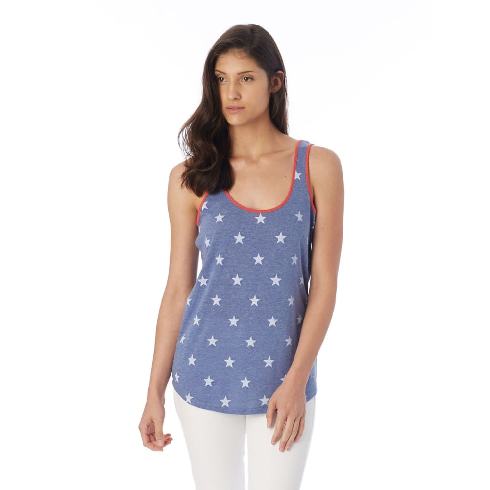 AA Tank Castaway - Pacific Blue Stars / X-Small - Clothing