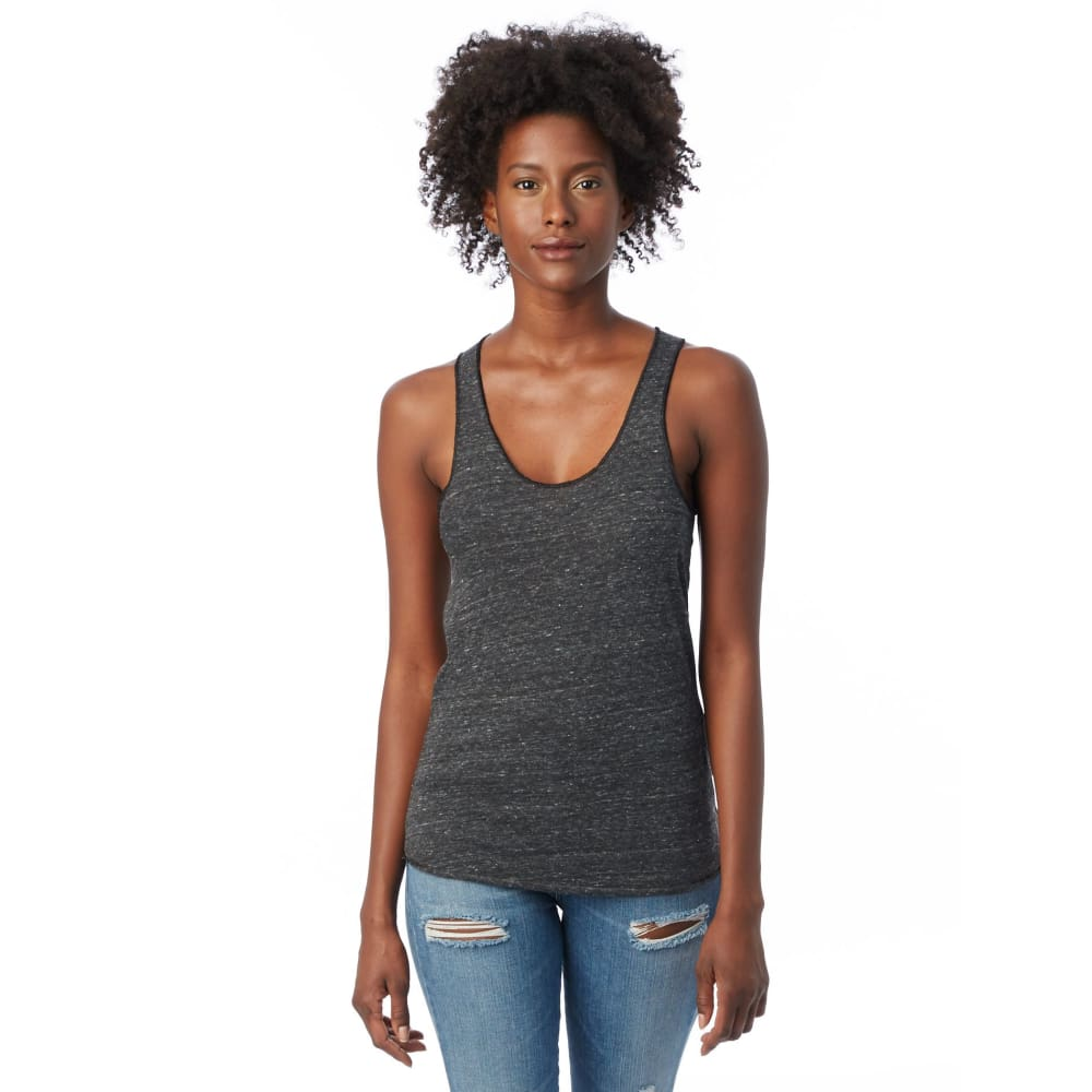 AA Tank Top Eco-Jersey - Eco-Black / X-Small - Clothing