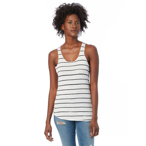 AA Tank Top Eco-Jersey - Eco-Stripe / X-Small - Clothing