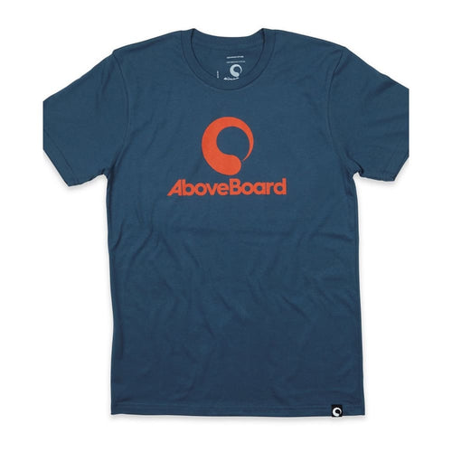 AB T-Shirt Original Organic - Blue / Small - Clothing