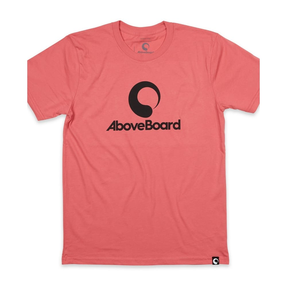 AB T-Shirt Original Organic - Coral / Small - Clothing