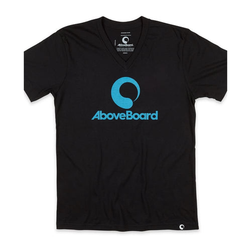 AB T-Shirt V-Neck Original Organic - Black / Small - Clothing