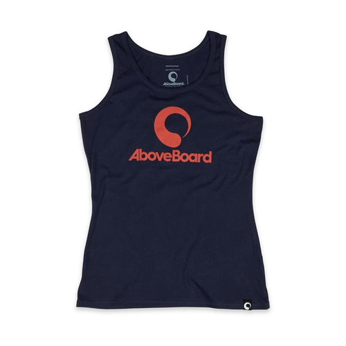 AB Tank Top Original Organic - Navy / Small - Clothing