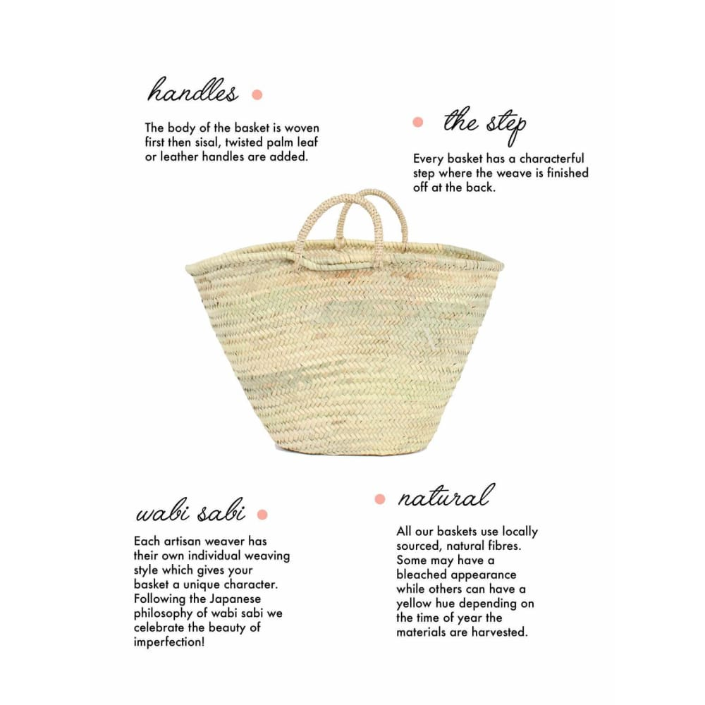 B Wave Tote Basket - Accessories