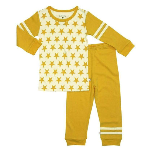 BSI All-Star Long Sleeve Lounge Set - Mustard / 2T - Clothing