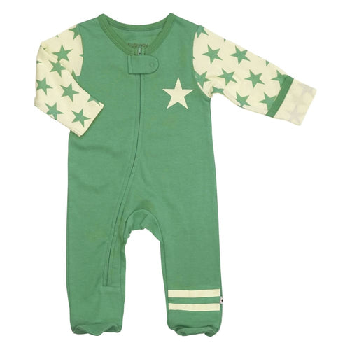 BSI All-Star Zipper Footie - Dragonfly / 0-3 Mths - Clothing