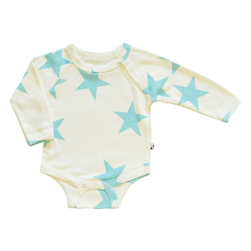 BSI Bodysuit L/S Harbor - 0-3 Mths - Clothing