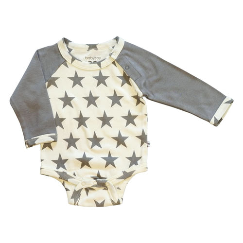 BSI Bodysuit L/S Thunder - 0-3 Mths - Clothing