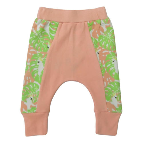 C&D Pant Tropical Camo - Gree/Rose / 3-6 Mths - Clothing