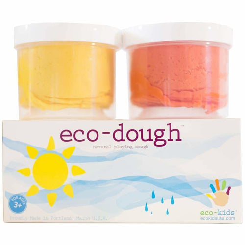EK Eco-Dough 2-Pack - Orange and Yellow / (2) 4 oz - Toys