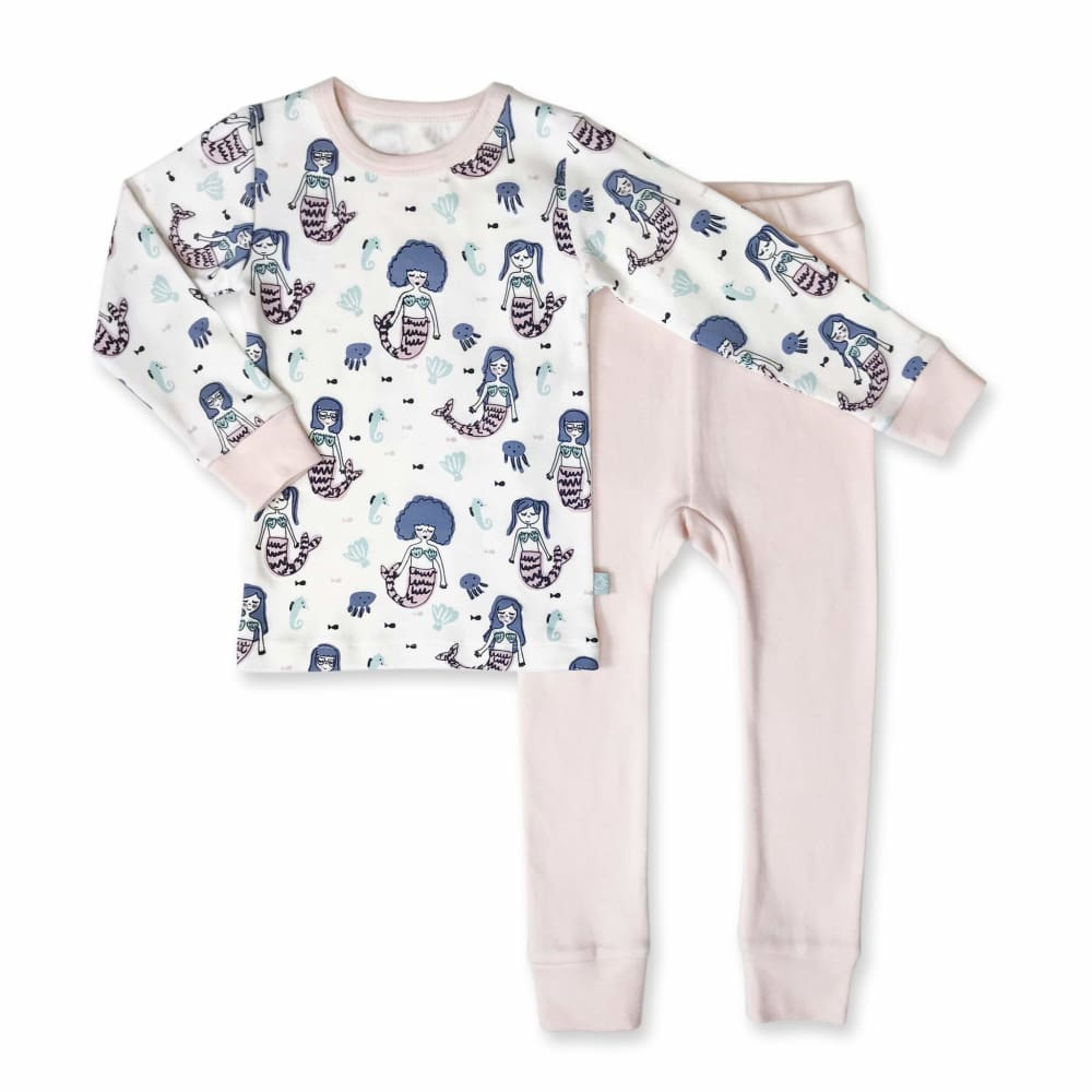 F&E Pajamas Mermaids - Multi / 12-18 Mths - Clothing