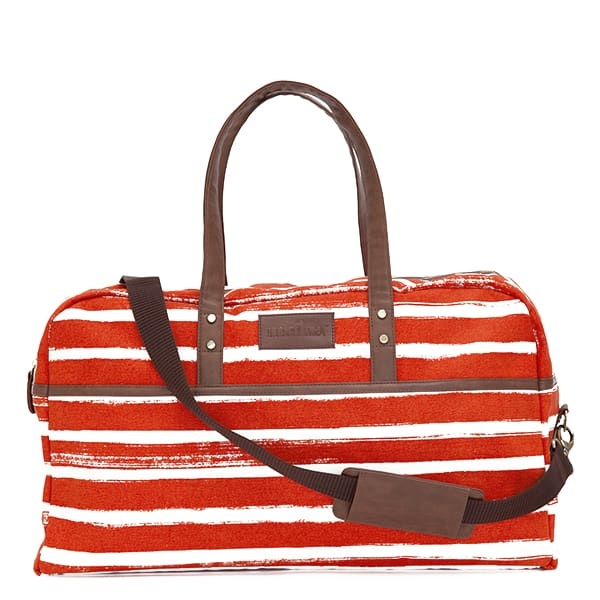 MK Duffel Bag - Stripes Tangerine / One Size - Accessories