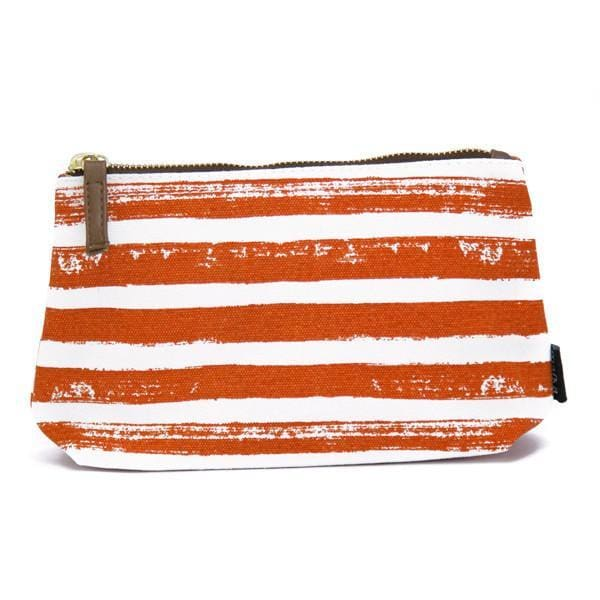MK Wristlet Pouch - Stripes Tangerine / One Size - Accessories