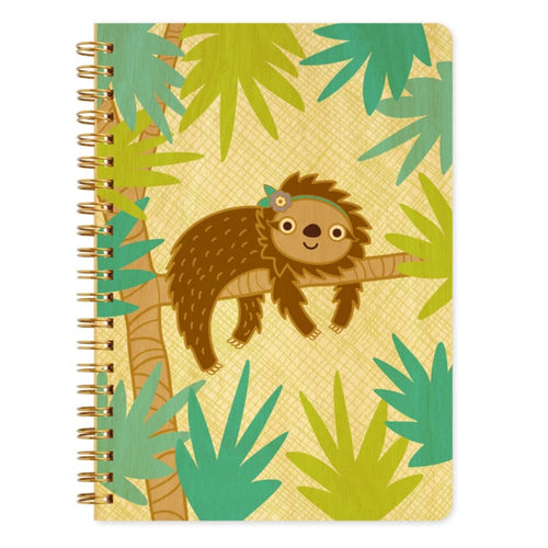 NOPG Journal Sloth Wood - Toys