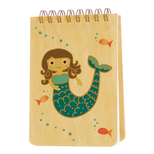 NOPG Mini Notepad Mermaid Wood - Toys