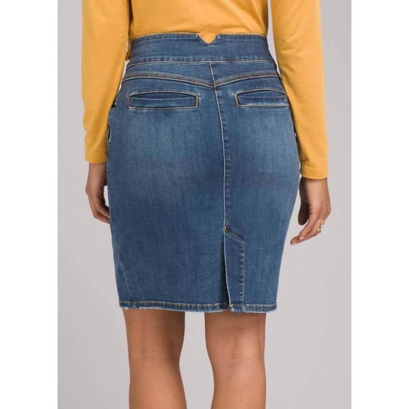 PL Aubrey Denim Skirt - Clothing