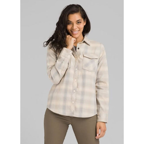 PL Charley Flannel - Plaster / X-Small - Clothing
