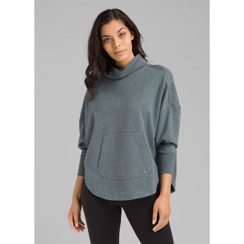 PL Cozy Up Poncho - Grey Blue / X-Small - Clothing