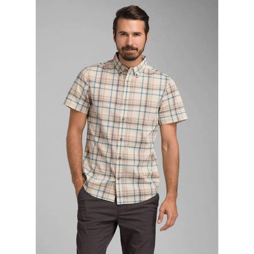 PL Granger Shirt SS - Bone / Medium - Clothing